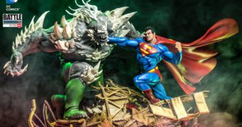 Iron Studios: Superman vs Doomsday Diorama