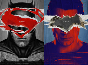 Pôsteres Batman vs Superman