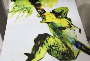 Pôster do Arqueiro Verde