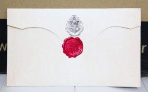 Envelope de Hogwarts