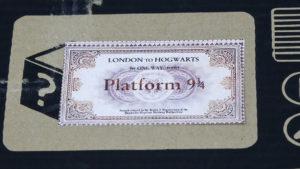 Ticket para o trem de Hogwarts