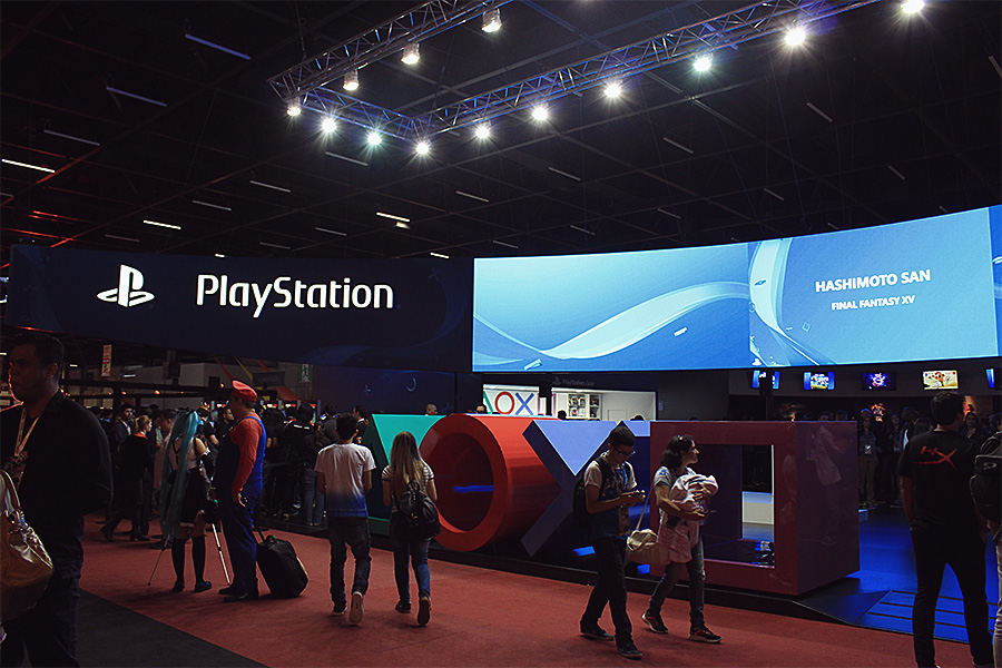 Estande Playstation BGS 2016