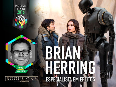Brian Herring CCXP 2016