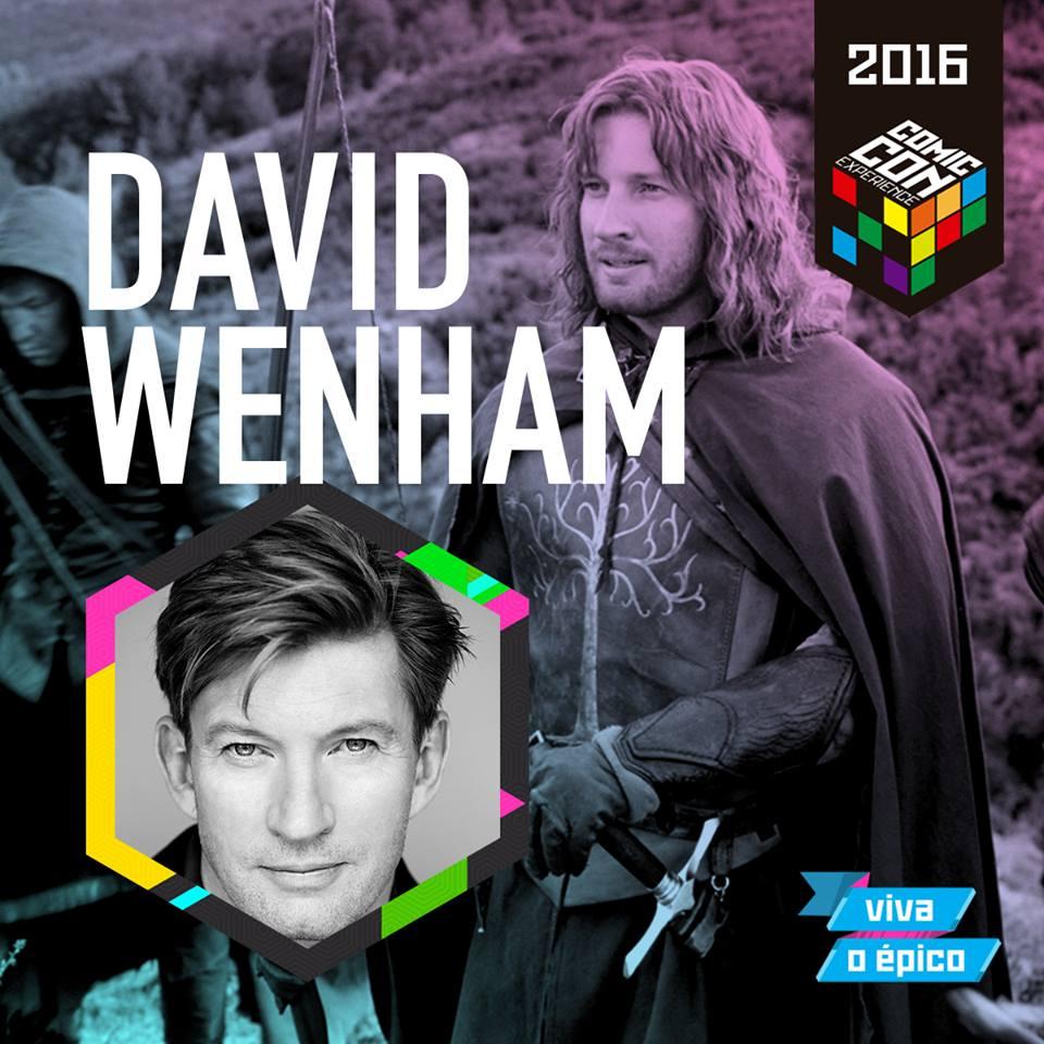 CCXP 2016 David Wenham