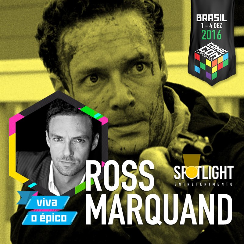 Ross Marquand CCXP 2016