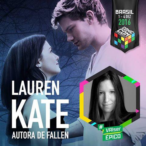 Lauren Kate CCXP 2016