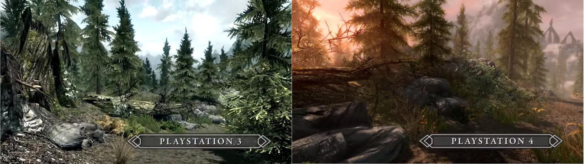 Comparação de gráficos entre o Playstation 3 e o Playstation 4