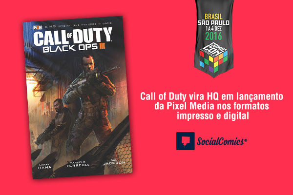 Social Comics Call of Duty CCXP 2016