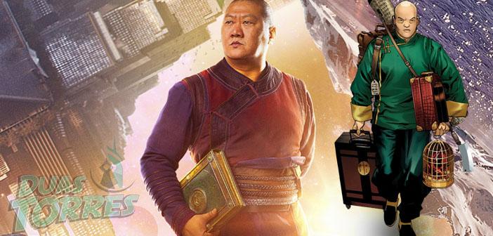 Benedict Wong atuará no filme como....Wong.