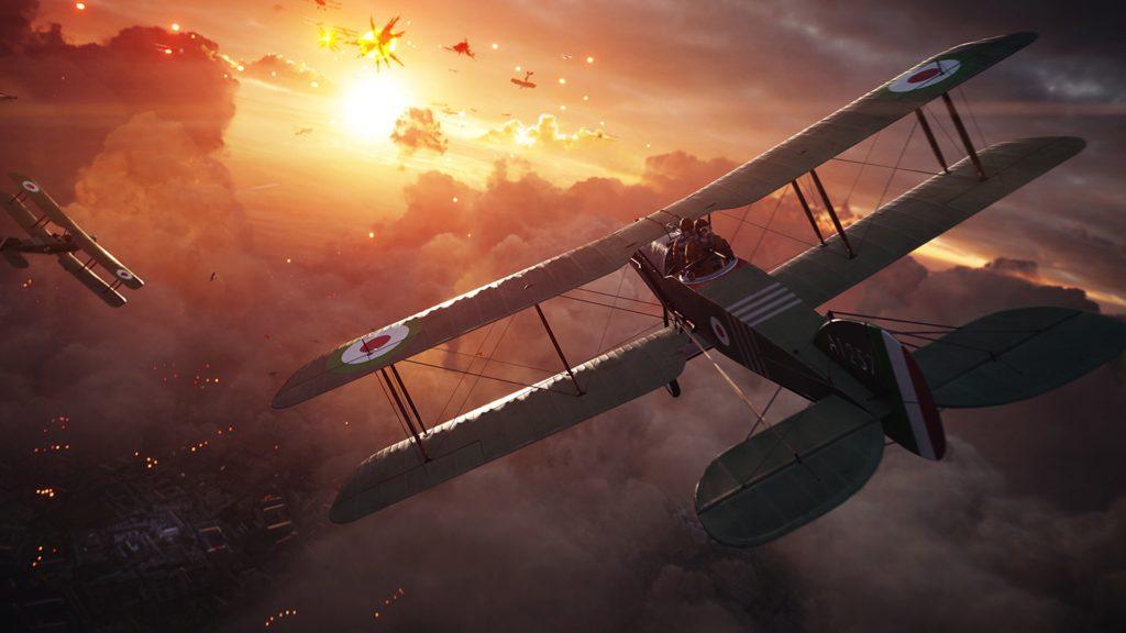 Os gráficos de Battlefield 1 impressionam