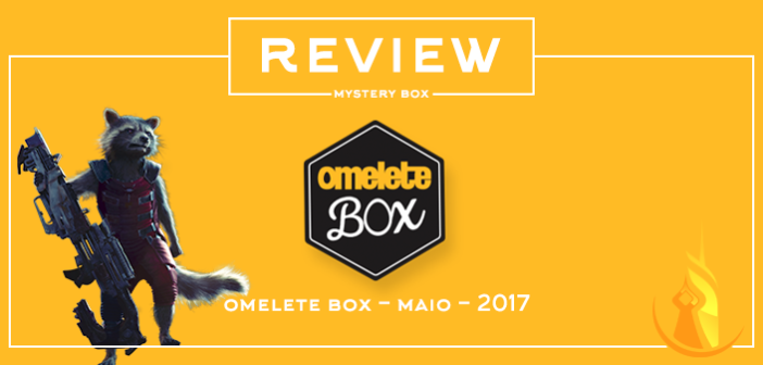 Review Mystery Box – Omelete Box Maio 2017