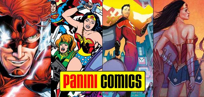 Panini Comics – Checklist DC Agosto 2017