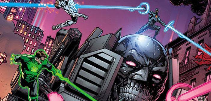 DC – Morte Vermelha e Máquina de Assassinato em capas de Dark Nights