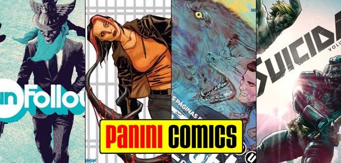 Panini Comics – Checklist Vertigo Janeiro 2018