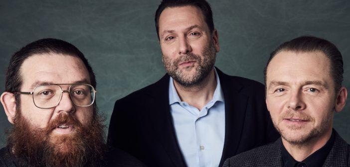 Truth Seekers – Simon Pegg e Nick Frost anunciam nova série de comédia