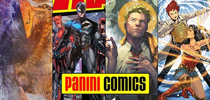 Panini Comics – Checklist DC Fevereiro de 2018