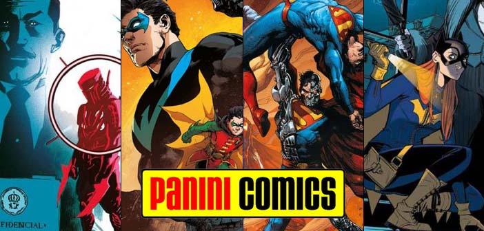 Panini Comics – Checklist DC Março de 2018