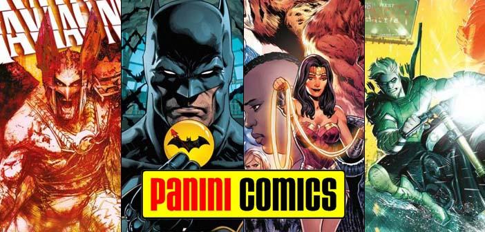 Panini Comics – Checklist DC Abril de 2018