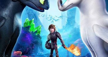 O amor está no ar no novo trailer de Como Treinar o Seu Dragão 3