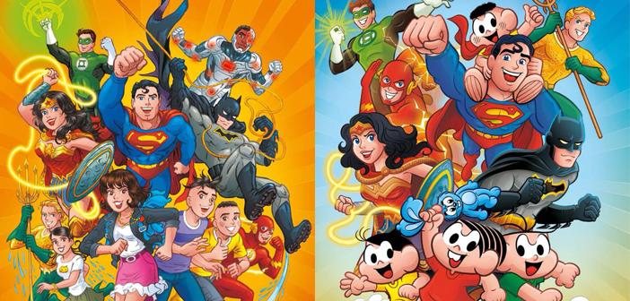DC – Heróis da DC e Turma da Mônica se encontrarão em HQ