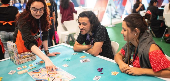 Hershey's patrocina área de board games da CCXP19