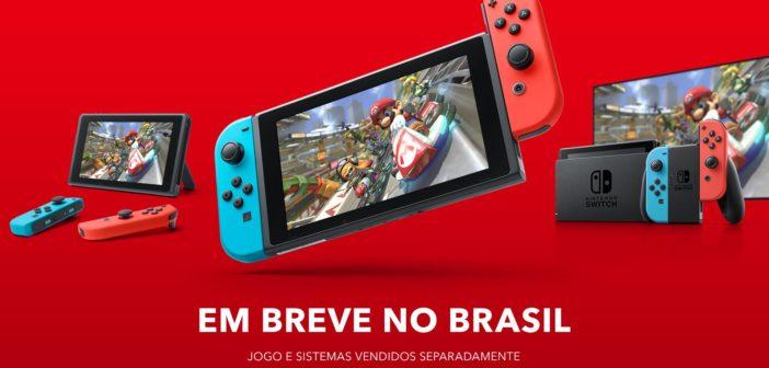 Nintendo Switch é anunciado oficialmente no Brasil